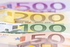 Euro Money Background Royalty Free Stock Photography