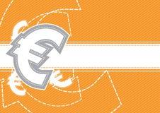 Euro money background design Royalty Free Stock Photos