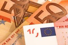 Euro money background Stock Image