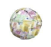Euro money ball Stock Images