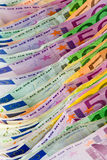 Euro money - bank notes Stock Image