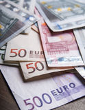 Euro money banknotes Royalty Free Stock Image