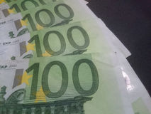 Euro money banknotes Royalty Free Stock Photos