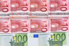 Euro money banknotes Royalty Free Stock Photos