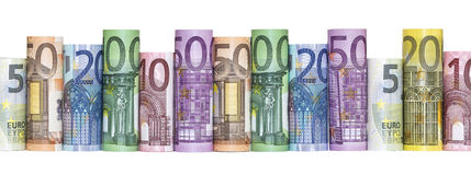 Euro Money Banknotes Stock Image