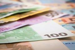 Euro Money Royalty Free Stock Photo