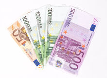 Euro Money Banknotes Royalty Free Stock Photography