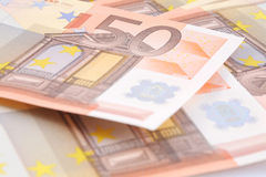 Euro money bill Royalty Free Stock Photos