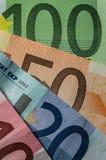 Euro money bills Stock Image