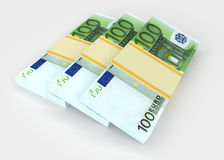 Euro. Money and business concepts Royalty Free Stock Photo