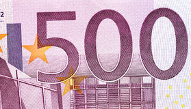 Euro money close-up Royalty Free Stock Images