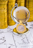 Euro money coin Royalty Free Stock Images