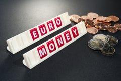 Euro money coins Stock Photography