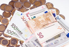 Euro Money Royalty Free Stock Photography