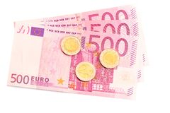 Euro money. royalty free stock photo