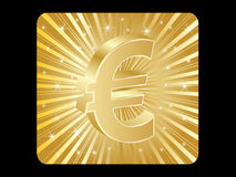 Euro money icon Royalty Free Stock Photography