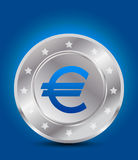 Euro money icon concept Stock Photos