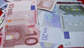 Euro money notes Stock Photography