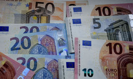 EURO MONEY NOTES Royalty Free Stock Image