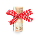 Euro money present Royalty Free Stock Image