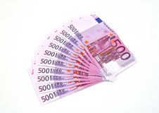 Euro money range. Royalty Free Stock Image