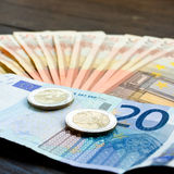 Euro, money Stock Images