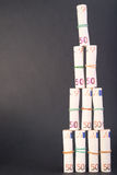 Euro money tower Stock Image