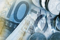 Euro Money Trader Concept Stock Image