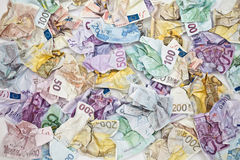 Euro munt Royalty-vrije Stock Foto