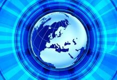 Euro- notícia ilustração royalty free