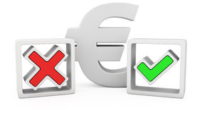 Euro or not? Stock Photos