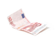 euro nota 10 Royalty-vrije Stock Afbeeldingen