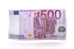 Euro Nota Royalty-vrije Stock Foto's