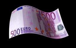 Euro Nota stock illustratie