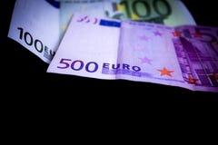 Euro nota Fotografia Stock Libera da Diritti