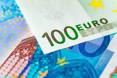 Euro nota Royalty-vrije Stock Fotografie