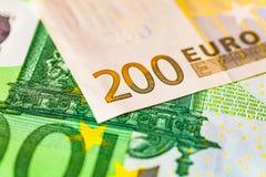 Euro nota Immagini Stock
