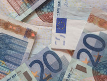 20 euro nota's Stock Foto's