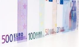 Euro Nota'sachtergrond Royalty-vrije Stock Fotografie