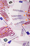 Euro- notas de banco Imagem de Stock