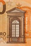 50 euro notatek - wizerunek fotografia royalty free