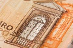 50 euro notatek - wizerunek zdjęcia royalty free