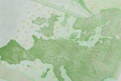 100 euro notatek - wizerunek obrazy royalty free