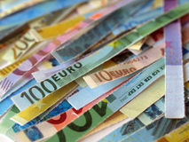 Euro note Royalty Free Stock Images