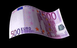Euro Note Royalty Free Stock Photos