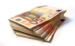 50 euro note Fotografie Stock