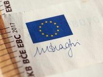 Euro note, Unione Europea Fotografia Stock Libera da Diritti