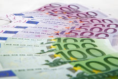 Euro notes Photo libre de droits