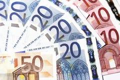 euro notes Photos libres de droits