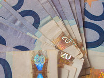 Euro notes Royalty Free Stock Photography
